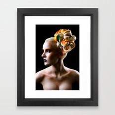 Chocolate Orange Framed Art Print