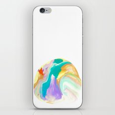 Deep Sea Colorful Surprises Marbling iPhone & iPod Skin