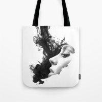Smoke & woman Tote Bag