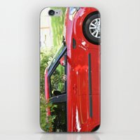 Yorkie Driving iPhone & iPod Skin