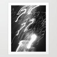 WHITEOUT : Ecstasy Art Print