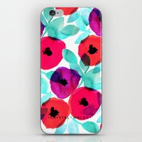 Pretty Pink Floral iPhone & iPod Skin