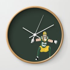 Fierce Wall Clock