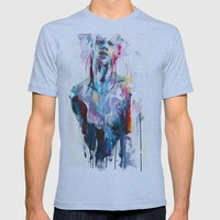 Nothing Is Enough Mens Fitted Tee Athletic Blue SMALL