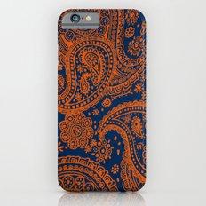 Auburn Paisley iPhone 6s Slim Case