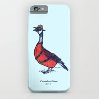 iPhone & iPod Case featuring Canadian Goose by David Schwen