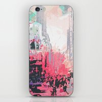 time square/new york iPhone & iPod Skin