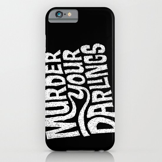 Murder Your Darlings iPhone & iPod Case