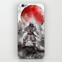 Banzai [The Warrior On T… iPhone & iPod Skin