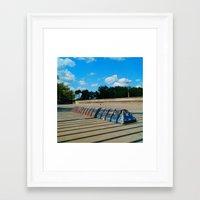 #SKATE PARC ORLANDO FLORIDA, USA by Jay Hops Framed Art Print