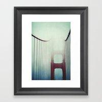 Over The Bridge Framed Art Print
