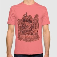 SeaWolf Mens Fitted Tee Pomegranate SMALL