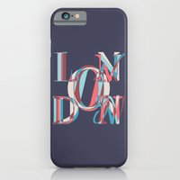 london iPhone & iPod Cases featuring London by Fimbis