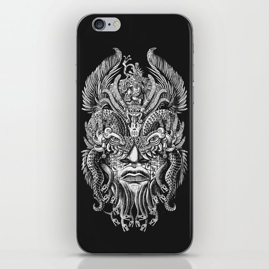 Queztalcoatl iPhone & iPod Skin