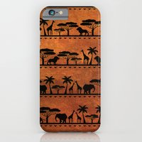 iPhone & iPod Case featuring African Animal Pattern by Robin Curtiss