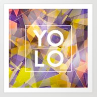 Art Print featuring Dreams Of YOLO Vol.1 by HappyMelvin