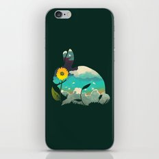 Rabbit Sky - (Forest Green) iPhone & iPod Skin