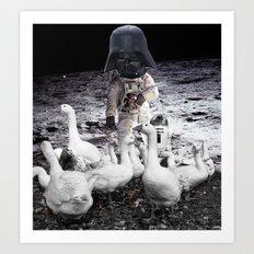 Goat Peter´s Return Art Print