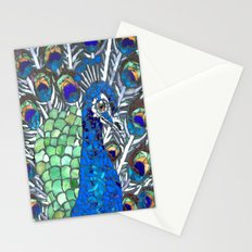 Small Peacock Stationery Cards