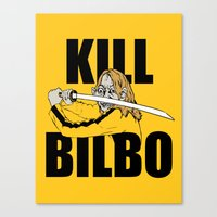 Kill Bilbo Canvas Print