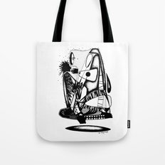 What you hold - Emilie Record Tote Bag