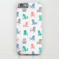 iPhone & iPod Case featuring Adirondacks  by Rachel Follett