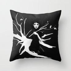Still Light Throw Pillow