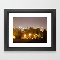 Buffalo Exposed Framed Art Print
