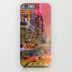 Traffic Jam Pink iPhone 6 Slim Case