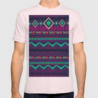 Native Mens Fitted Tee Light Pink SMALL