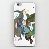 The Raptors iPhone & iPod Skin