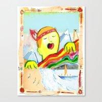 Sing! Canvas Print