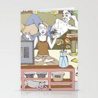 Living Together Stationery Cards