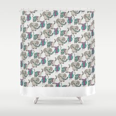 Whimsical Animals Shower Curtain