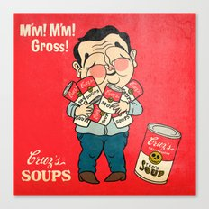 Cruz's Soup Canvas Print