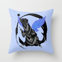 To Fly Free Throw Pillow
