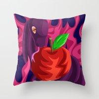 Eden's Fall Throw Pillow