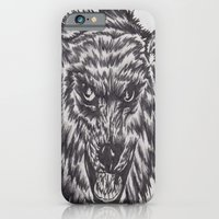 Angry wolf iPhone 6 Slim Case