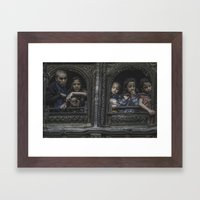 Waiting and Watching Framed Art Print