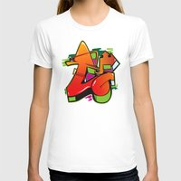 graffiti T-shirts featuring Graffiti by Sobhani