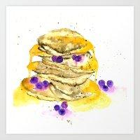 fluffy pancake Art Print