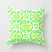Fruity Pattern Throw Pillow