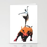 Bovine Ballet Stationery Cards