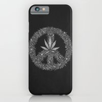 iPhone & iPod Case featuring Green Peace by Tomas Jordan