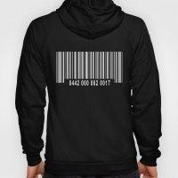 Barcode Inverse Hoody