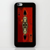 DUECES ARE WILD V2 - 002 iPhone & iPod Skin