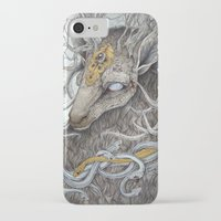 forest iPhone & iPod Cases featuring In Memory, as a print by Caitlin Hackett