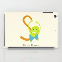 S Is For Stomp iPad Case