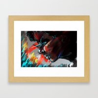 I Am The Coldest Framed Art Print