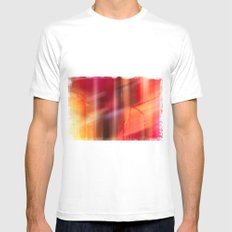 crimson  fall White SMALL Mens Fitted Tee